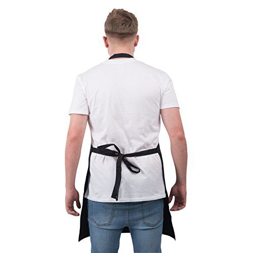 Bang Tidy Clothing Funny BBQ Apron Novelty Aprons Cooking Gifts for Men Does My Sausage Look Big In This Black One Size