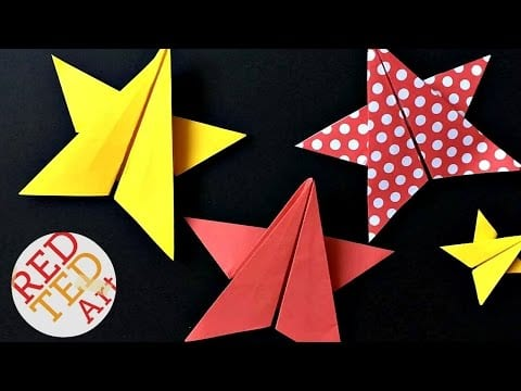 Origami Star DIY – 5 Pointed Origami Paper Star DIY – Paper Crafts