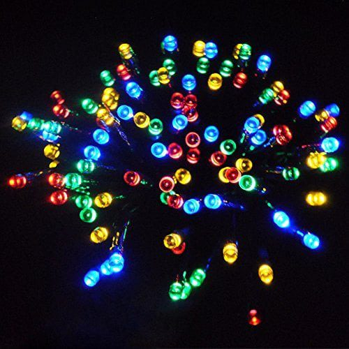 the latest 7867e 2955f JnDee™ Waterproof Fairy Lights 30M 300 LED +10M Cable Lead Multi Colours  (RED, Green, Blue and Yellow) with 8 Light Effects Functions, for Both  Indoor ...