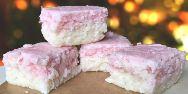 Christmas Coconut Ice