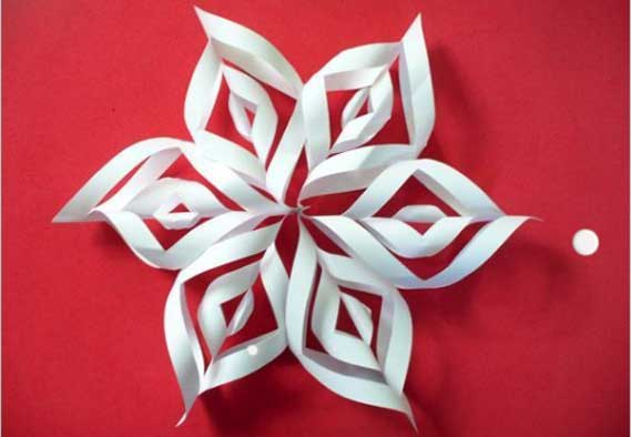 Snowflakes decorations to make