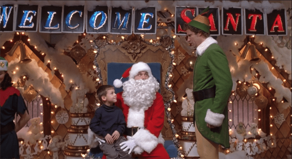 Image for What does Buddy tell the department store Santa he smells like?