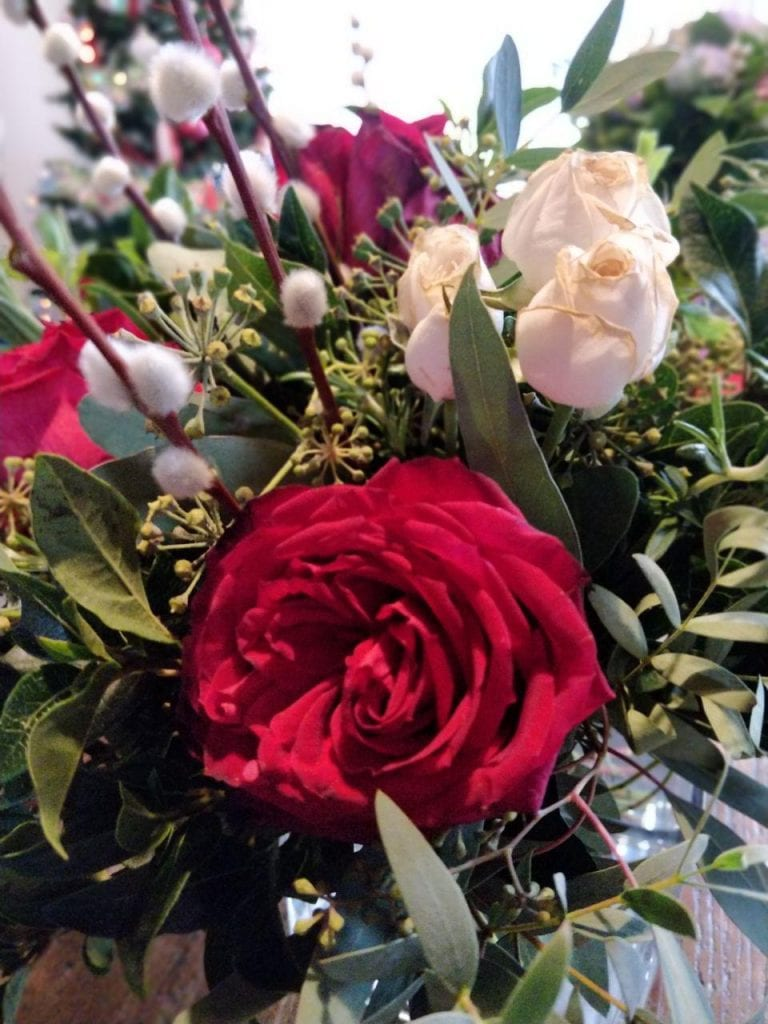 Christmas Flowers from The Real Flower Company