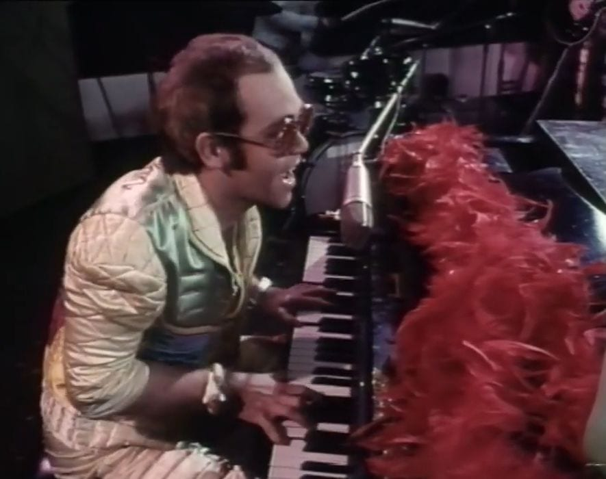 Image for What is Elton John sending you in Step in to Christmas?