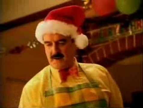 Image for Which supermarket was John Cleese getting his Christmas dinner from in the 90's?