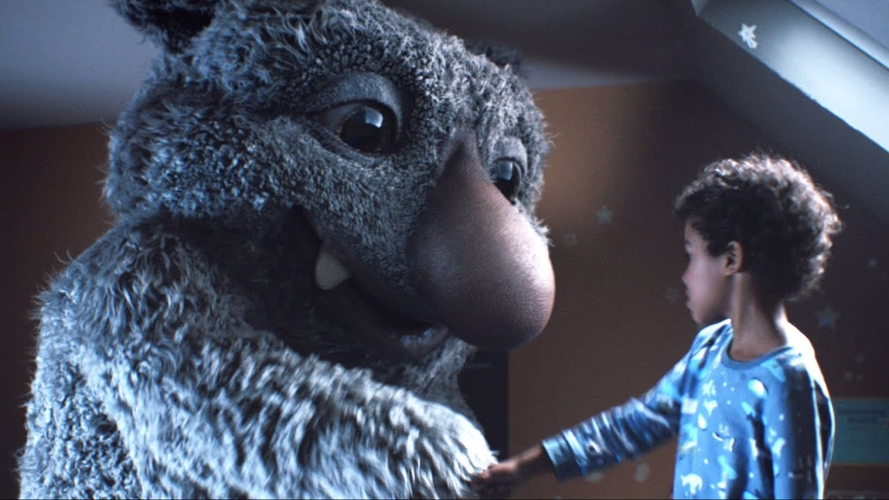 Image for What is the name of the monster in this John Lewis offering from